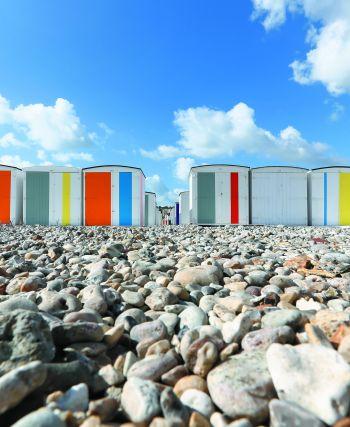 Les cabanes de la plage du Havre